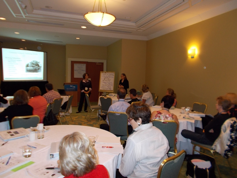 Christy Tull and Prof. Ann O\'Connel\'s session on Measuring Impact