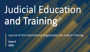 Judicial Education and Training
