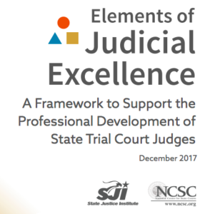 Elements of Judicial Education