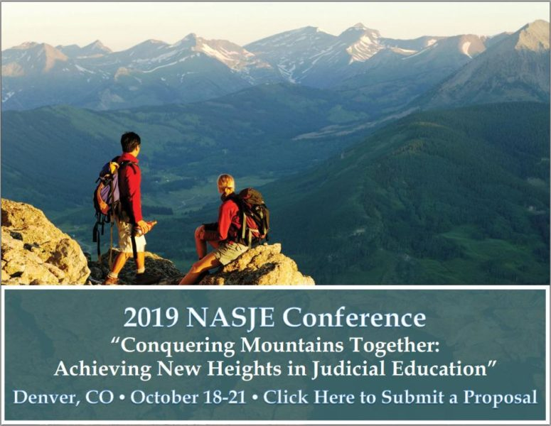 NASJE Seeking Presentation Proposals for 2019 Conference – NASJE