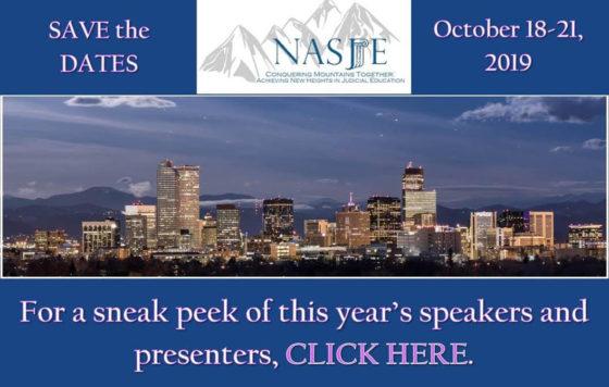 NASJE – National Association of State Judicial Educators