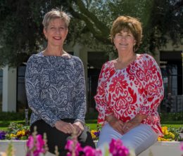 Nancy Smith and Leslie Gross